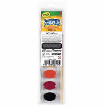 Acuarela Crayola estuche con 8 colores