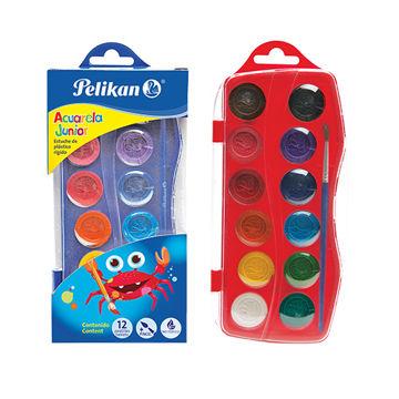 Imagen de Acuarela Pelikan Junior con 12 colores