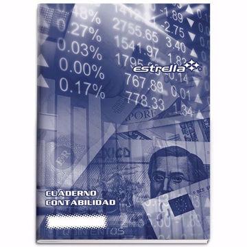 Cuaderno de contabilidad Estrella Balance con 16 hojas
