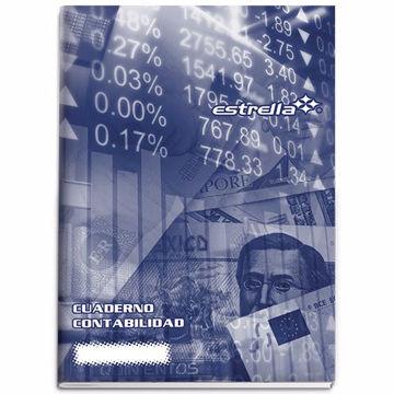 Cuaderno de contabilidad Estrella Diario con 16 hojas