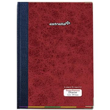 Imagen de Libro Florete Estrella Forma Francesa de diario con 144 hojas