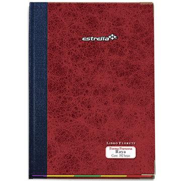 Imagen de Libro Florete Estrella Forma Francesa de raya con 192 hojas