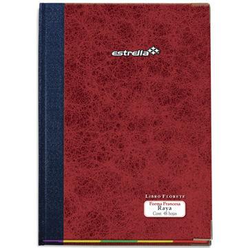 Imagen de Libro Florete Estrella Forma Francesa de raya con 48 hojas