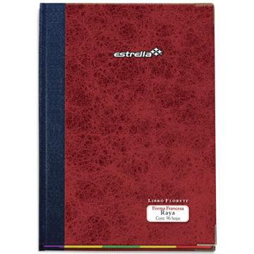 Imagen de Libro Florete Estrella Forma Francesa de raya con 96 hojas