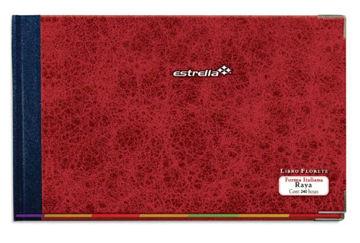 Imagen de Libro Florete Estrella Forma Italiana de raya con 240 hojas