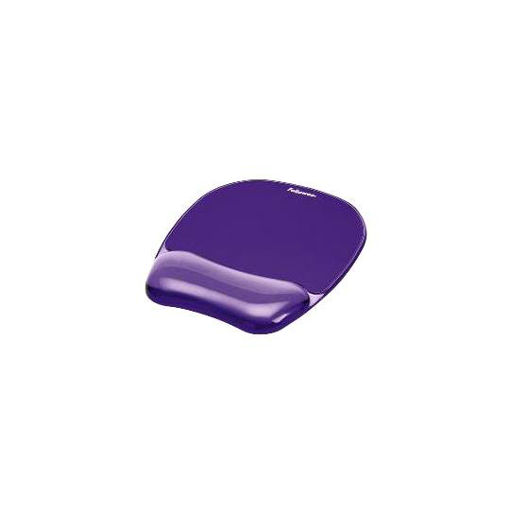 Imagen de MOUSEPAD FELLOWES 91441 DE GEL COLOR VIOLETA CRISTAL