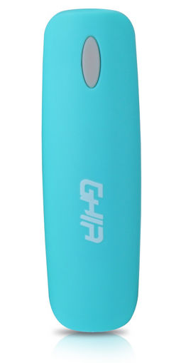Imagen de POWER BANK GHIA BATERIA DE RESPALDO 2500 MAH GAC-049 EN COLOR AZUL